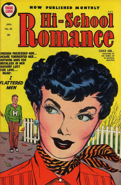 Cover for Hi-School Romance (Harvey, 1949 series) #35