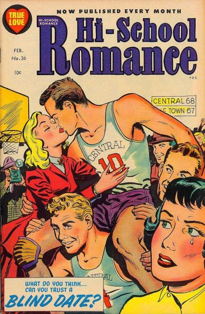 Cover for Hi-School Romance (Harvey, 1949 series) #36