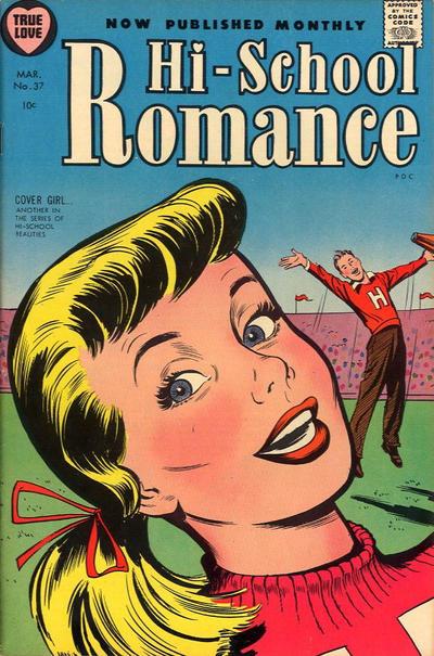Cover for Hi-School Romance (Harvey, 1949 series) #37
