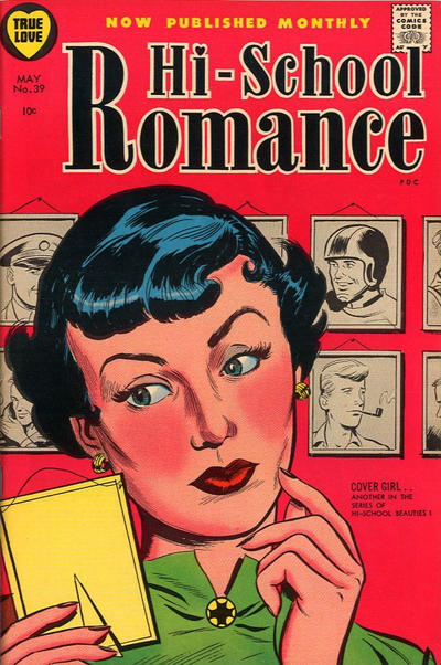 Cover for Hi-School Romance (Harvey, 1949 series) #39