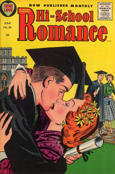 Cover for Hi-School Romance (Harvey, 1949 series) #40