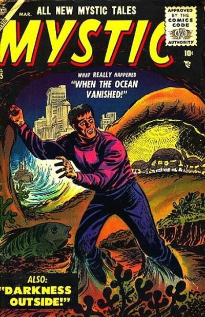 Cover for Mystic (Marvel, 1951 series) #45