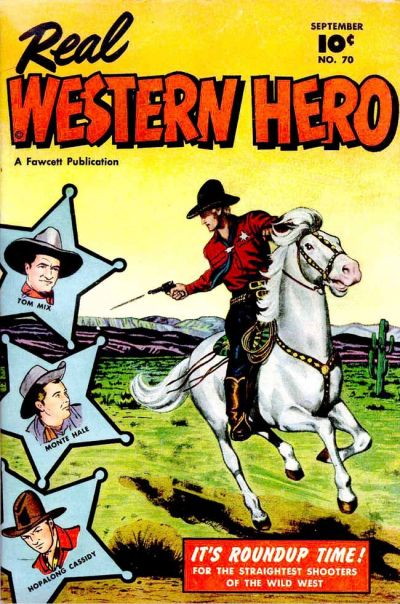 Cover for Real Western Hero (Fawcett, 1948 series) #70