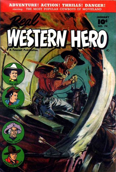 Cover for Real Western Hero (Fawcett, 1948 series) #74
