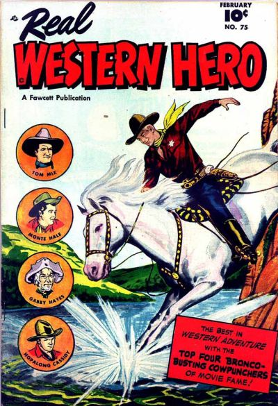 Cover for Real Western Hero (Fawcett, 1948 series) #75