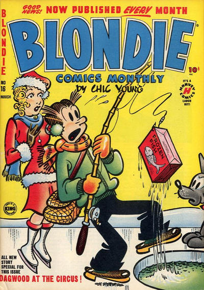 Cover for Blondie Comics Monthly (Harvey, 1950 series) #16