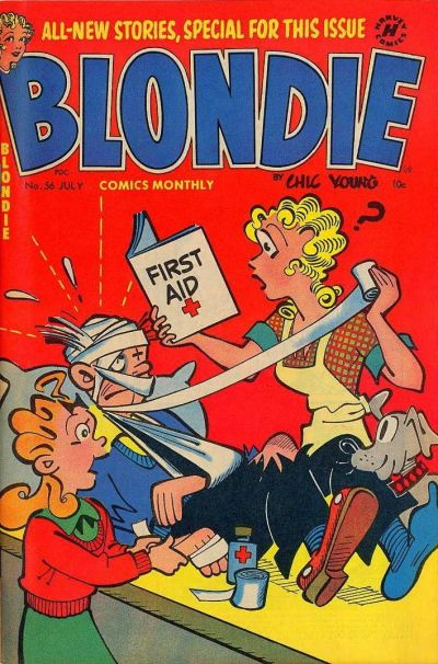 Cover for Blondie Comics Monthly (Harvey, 1950 series) #56