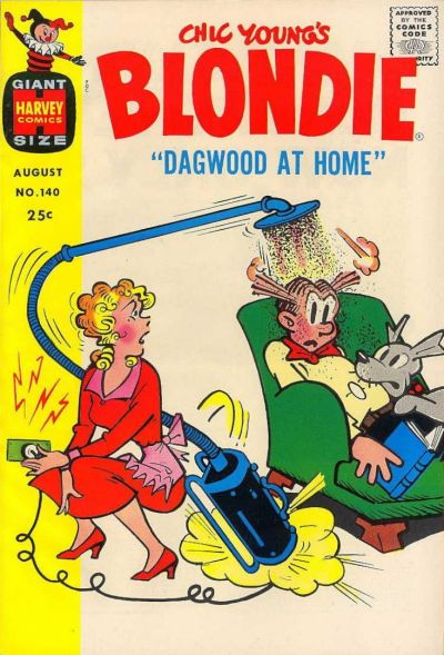 Cover for Blondie Comics Monthly (Harvey, 1950 series) #140