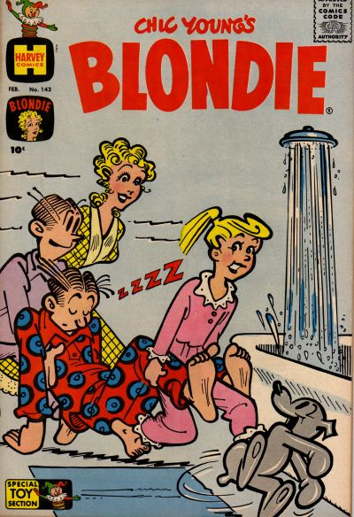 Cover for Blondie (Harvey, 1960 series) #143