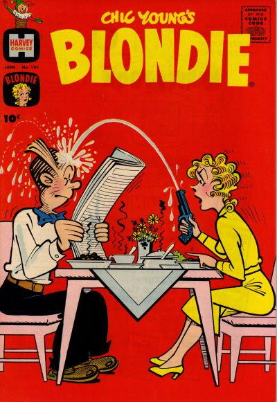 Cover for Blondie (Harvey, 1960 series) #145