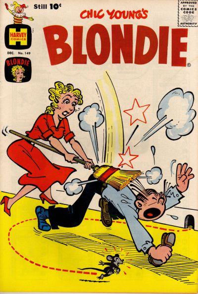 Cover for Blondie (Harvey, 1960 series) #149