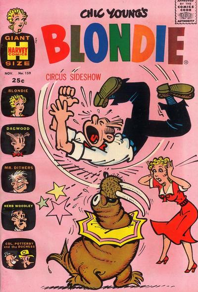 Cover for Blondie (Harvey, 1960 series) #159