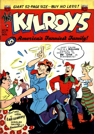 Cover for The Kilroys (American Comics Group, 1947 series) #26