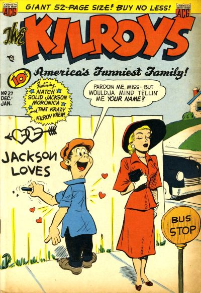 Cover for The Kilroys (American Comics Group, 1947 series) #27