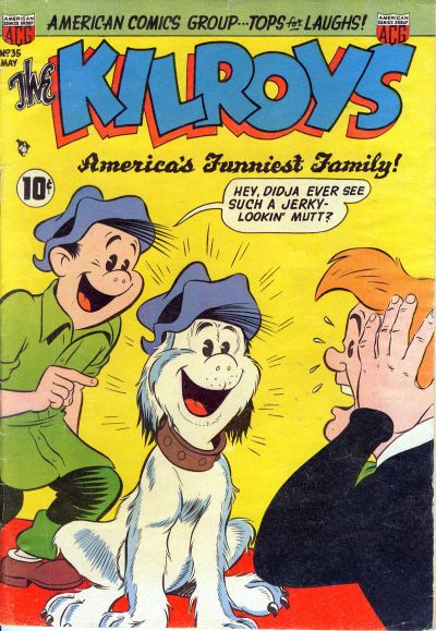 Cover for The Kilroys (American Comics Group, 1947 series) #35