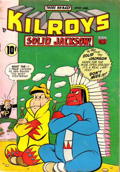 Cover for The Kilroys (American Comics Group, 1947 series) #51