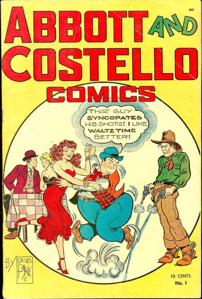 Cover for Abbott and Costello Comics (St. John, 1948 series) #1