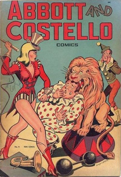 Cover for Abbott and Costello Comics (St. John, 1948 series) #4