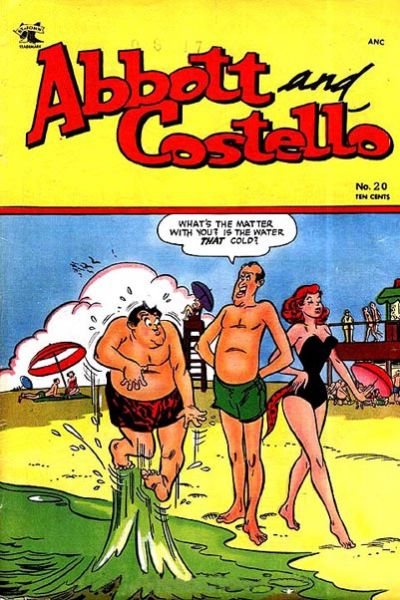 Cover for Abbott and Costello Comics (St. John, 1948 series) #20