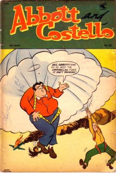 Cover for Abbott and Costello Comics (St. John, 1948 series) #22