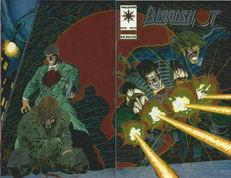 Cover for Bloodshot (Acclaim / Valiant, 1993 series) #0 [Standard Cover]