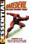 Cover for Essential Daredevil (Marvel, 2002 series) #1