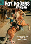 Cover for Roy Rogers and Trigger (Dell, 1955 series) #118