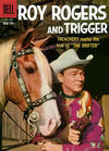 Cover for Roy Rogers and Trigger (Dell, 1955 series) #128