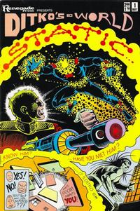 Cover Thumbnail for Ditko's World featuring Static (Renegade Press, 1986 series) #1