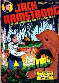 Cover Thumbnail for Jack Armstrong (Parents' Magazine Press, 1947 series) #3