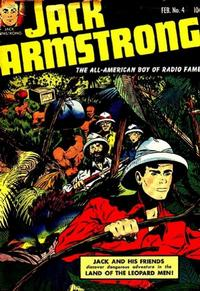 Cover Thumbnail for Jack Armstrong (Parents' Magazine Press, 1947 series) #4