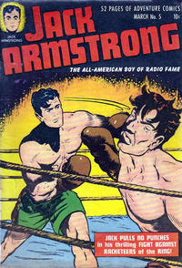 Cover Thumbnail for Jack Armstrong (Parents' Magazine Press, 1947 series) #5