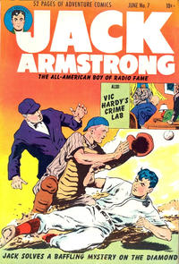 Cover Thumbnail for Jack Armstrong (Parents' Magazine Press, 1947 series) #7
