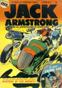Cover Thumbnail for Jack Armstrong (Parents' Magazine Press, 1947 series) #9