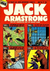 Cover Thumbnail for Jack Armstrong (Parents' Magazine Press, 1947 series) #11