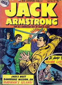 Cover Thumbnail for Jack Armstrong (Parents' Magazine Press, 1947 series) #12