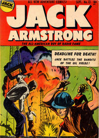 Cover Thumbnail for Jack Armstrong (Parents' Magazine Press, 1947 series) #13