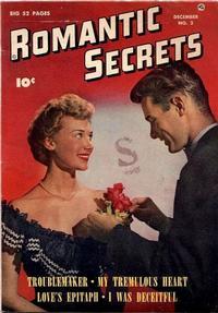 Cover Thumbnail for Romantic Secrets (Fawcett, 1949 series) #2