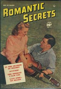 Cover Thumbnail for Romantic Secrets (Fawcett, 1949 series) #5