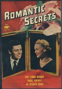 Cover Thumbnail for Romantic Secrets (Fawcett, 1949 series) #11