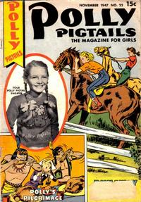 Cover Thumbnail for Polly Pigtails (Parents' Magazine Press, 1946 series) #22
