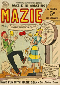 Cover Thumbnail for Mazie (Nation-Wide Publishing, 1950 series) #2