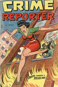 Cover Thumbnail for Crime Reporter (St. John, 1948 series) #1