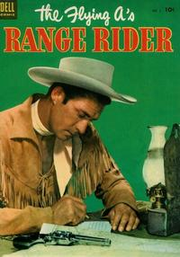 Cover Thumbnail for The Flying A's Range Rider (Dell, 1953 series) #2