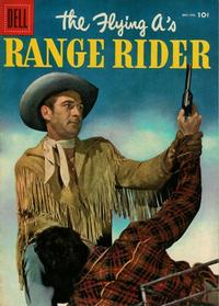 Cover Thumbnail for The Flying A's Range Rider (Dell, 1953 series) #12