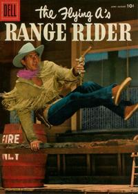 Cover Thumbnail for The Flying A's Range Rider (Dell, 1953 series) #14