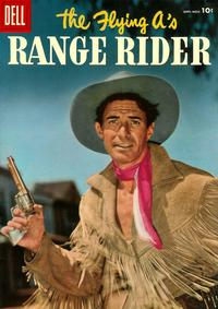 Cover Thumbnail for The Flying A's Range Rider (Dell, 1953 series) #15