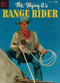 Cover Thumbnail for The Flying A's Range Rider (Dell, 1953 series) #16