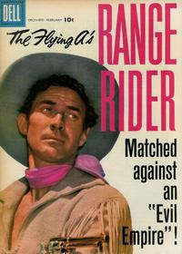 Cover Thumbnail for The Flying A's Range Rider (Dell, 1953 series) #20