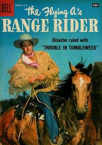 Cover Thumbnail for The Flying A's Range Rider (Dell, 1953 series) #21